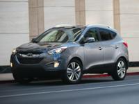 2014 Hyundai Tucson Black Certified. Clean CARFAX.