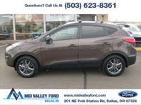 2014 HYUNDAI TUCSON LIMITED WITH ONLY 24,560 MILES!!