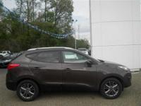 Options:  2014 Hyundai Tucson Brown|2.4L 4