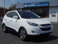 2014 Hyundai Tucson Limited In White * BLUETOOTH * *