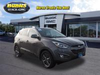 Low miles, one owner Certified Tucson all wheel drive
