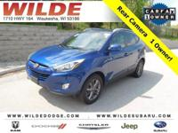 Options:  2014 Hyundai Tucson Se|Laguna Blue