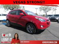 Options:  2014 Hyundai Tucson Se|Red|Tucson Se|4D Sport