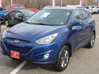 This 2014 Hyundai Tucson SE ONE OWNER is proudly