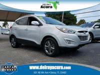 CARFAX One-Owner. Graphite Gray 2014 Hyundai Tucson SE