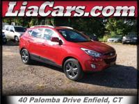 2014 Hyundai Tucson in Garnet Red, Carfax Certified!, 1