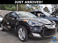 This Veloster features:  Clean CARFAX. CARFAX