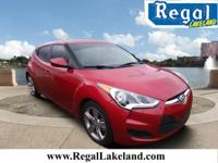 Recent Arrival! Red 2014 Hyundai Veloster FWD 6-Speed