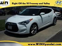 THE ONLY FULLY LOADED CERTIFIED VELOSTER WITHIN 500