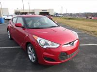 This 2014 Hyundai Veloster Base w/Gray is just the