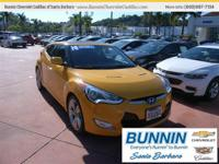 Options:  2014 Hyundai Veloster Does It All!! Do You