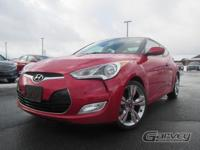 This 2014 Hyundai Veloster Coupe is equipped with the