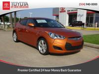 CARFAX One-Owner. Clean CARFAX. Orange 2014 Hyundai