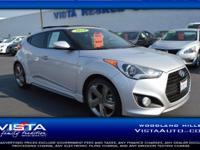 This 2014 Hyundai Veloster Turbo, has a great Ironman