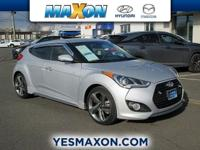 This 2014 Hyundai Veloster Turbo is offered to you for