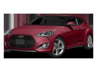 This 2014 Hyundai Veloster Turbo is Well Equipped with