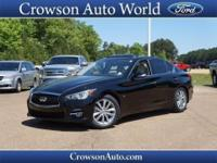 In this 2014 Infiniti Q50,enjoy every drive with prime