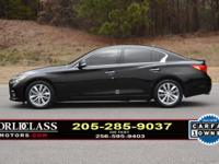 We finance - 1-Owner, clean Carfax...LOADED Q50