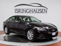 This very nice 1-owner 2014 INFINITI Q50 comes well