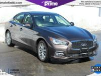 2014 Infiniti Certified Q50 Premium AWD Sedan With
