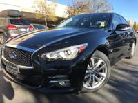 CARFAX One-Owner. Clean CARFAX. Black 2014 INFINITI Q50