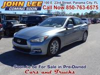 ONLY 34,535 MILES..! This one-owner 2014 Infiniti Q50