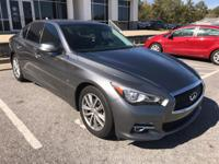 We are excited to offer this 2014 INFINITI Q50. This