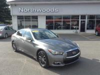 New Price! Clean CARFAX. Graphite Shadow 2014 INFINITI