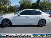 Infiniti Q50 Hybrid Sport. Navigation Package with