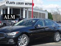This 2014 INFINITI Q50 4dr 4dr Sedan AWD Premium