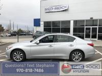 This 2014 Infinite q50 Premium is just that, premium.