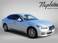 CARFAX One-Owner. Clean CARFAX. Silver 2014 INFINITI