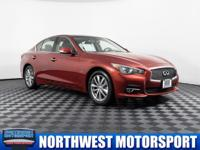 One Owner Clean Carfax AWD Sedan with Sunroof!