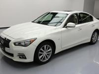 2014 Infiniti Q50 with Leatherette Seats,Power Front