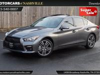 This 2014 INFINITI Q50 4dr 4dr Sedan AWD Sport features