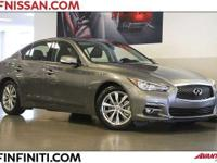 Options:  2014 Infiniti Q50 Premium 4D Sedan|Heated