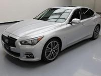 2014 Infiniti Q50 with 3.7L V6 Engine,Power Front