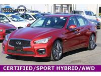 *INFINITI CERTIFIED* *INCLUDES UNLIMITED MILEAGE