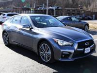 2014 INFINITI Q50 Gray Sport ABS brakes, Alloy wheels,