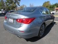 Options:  2014 Infiniti Q50 4Dr Sdn Sport Rwd|Roof -