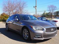 2014 Infiniti Q50 In Graphite Shadow. Lake Norman