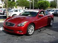 This 2014 Infiniti Q60 Coupe features a CARFAX Buyback
