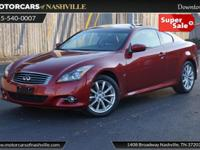 This 2014 INFINITI Q60 Coupe 2dr 2dr Auto AWD features