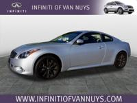 Options:  2014 Infiniti Q60 Coupe Sport.  It Comes With
