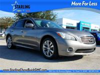 New Price! This 2014 INFINITI Q70 3.7 in Gray features: