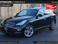 This 2014 INFINITI QX50 4dr AWD Journey features a 3.7L