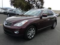 Options:  2014 Infiniti Qx50 Rwd 4Dr Journey|Navigation