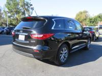 Options:  2014 Infiniti Qx60|Certified Vehicle|Roof -