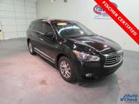 2014 Infiniti QX60 ** LEATHER ** Huge Moonroof **