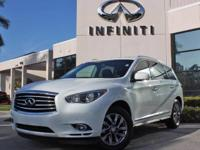 2014 INFINITI QX60, Certified Pre-Owned Vehicle, Only